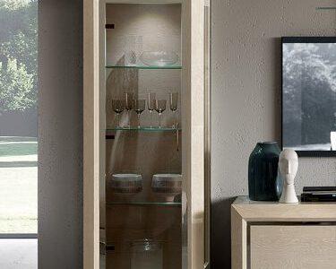 Camelgroup itališki svetainės baldai Elite Day Sabbia vitrina indauja