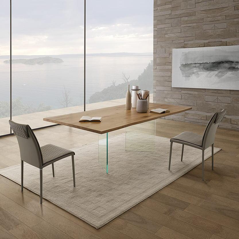 Italiski baldai Natisa valgomojo stalas Light u (1)