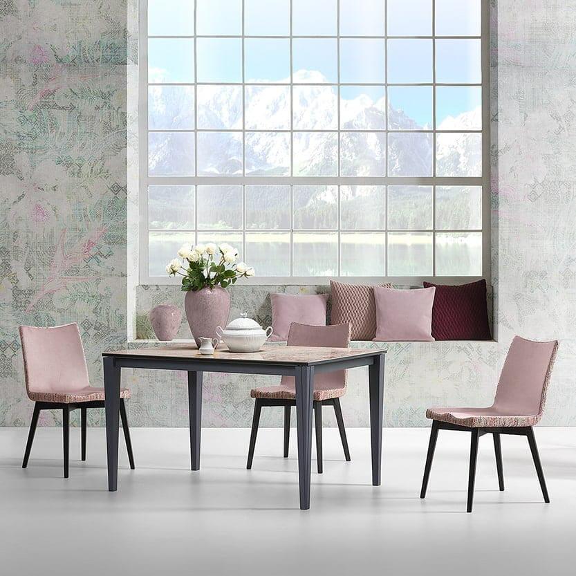 Italiski baldai Natisa valgomojo stalas Paul (1)