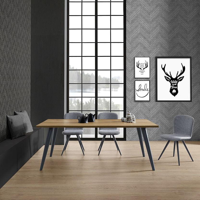 Italiski baldai Natisa valgomojo stalas Prosit U (1)