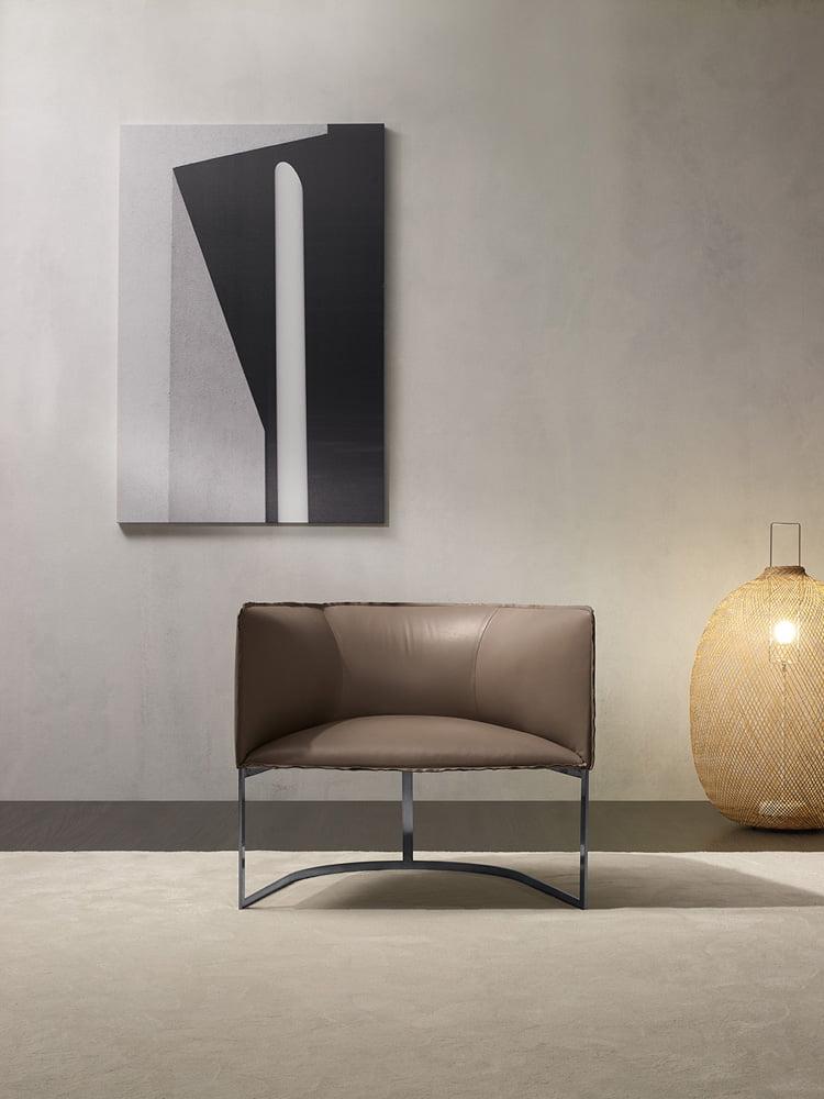 Prianera italiski minksti baldai fotelis Minimal (6)