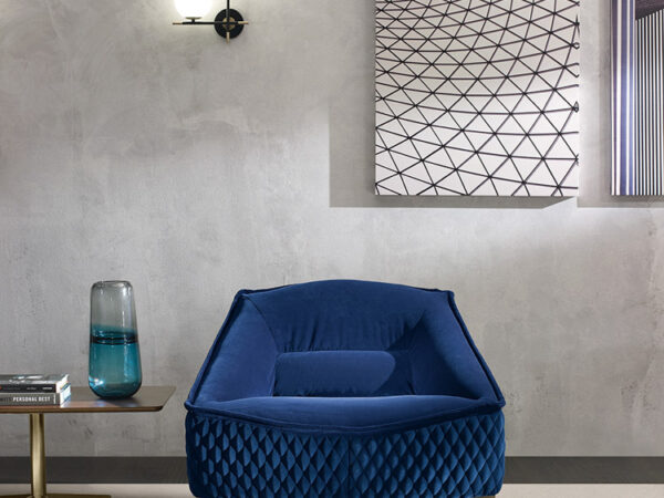 Prianera italiski minksti baldai fotelis Tosca (11)
