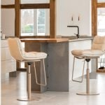Vokiški baldai baro kėdė ARVA balta (2)