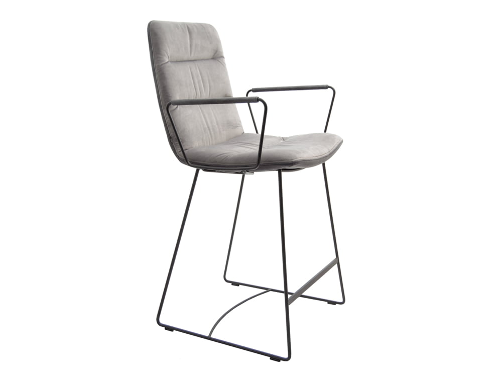 Vokiški baldai baro kėdė arva-light-stool pilka (1)