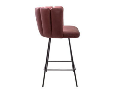 Vokiški baldai baro kėdė gaia rožine (3)