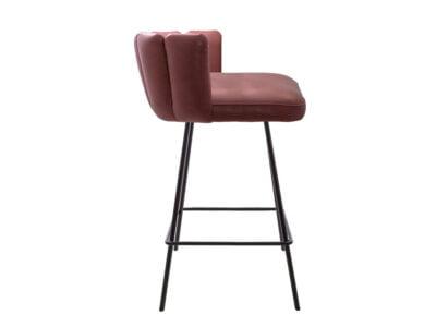 Vokiški baldai baro kėdė gaia su žema nugarėle (2)