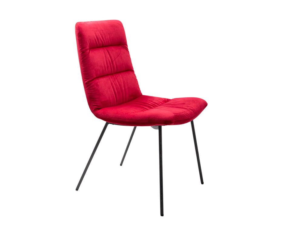 Vokiški baldai kėdė ARVA-LIGHT raudona (1)