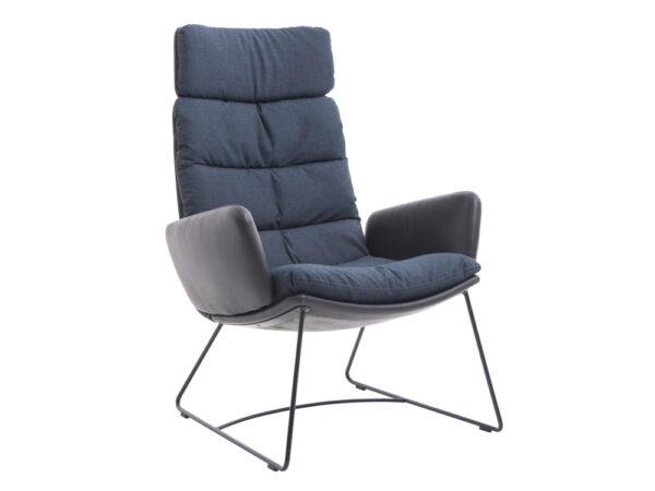 Vokiški baldai kėdė ARVA LOUNGE (4)