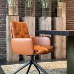 Vokiški baldai kėdė ARVA-STITCH-Swivel (4)