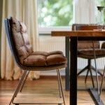Vokiški baldai kėdė ARVA Sled base (7)