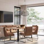 Vokiški baldai kėdė D-LIGHT (12)