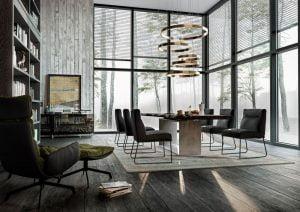 Vokiški baldai kėdė D-LIGHT (3)-2