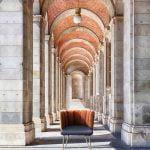 Vokiški baldai kėdė GAIA 4 kojos (2)