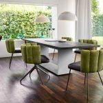Vokiški baldai kėdė GAIA 4 kojos (5)