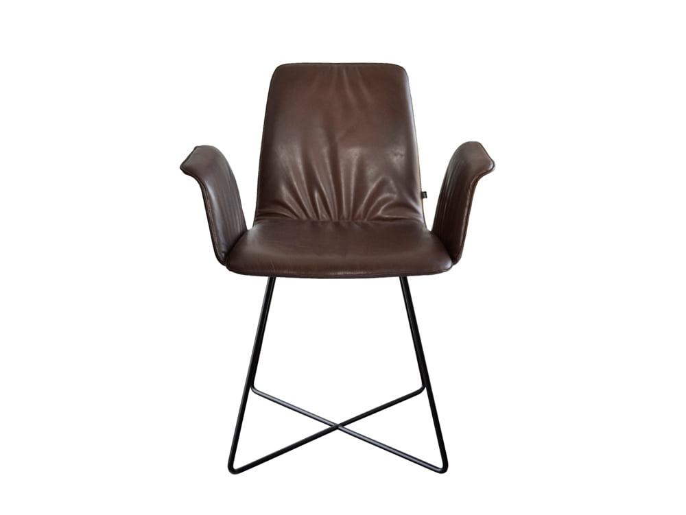 Vokiški baldai kėdė MAVERICK-CASUAL-Leather-chair-KFF-51 (2)