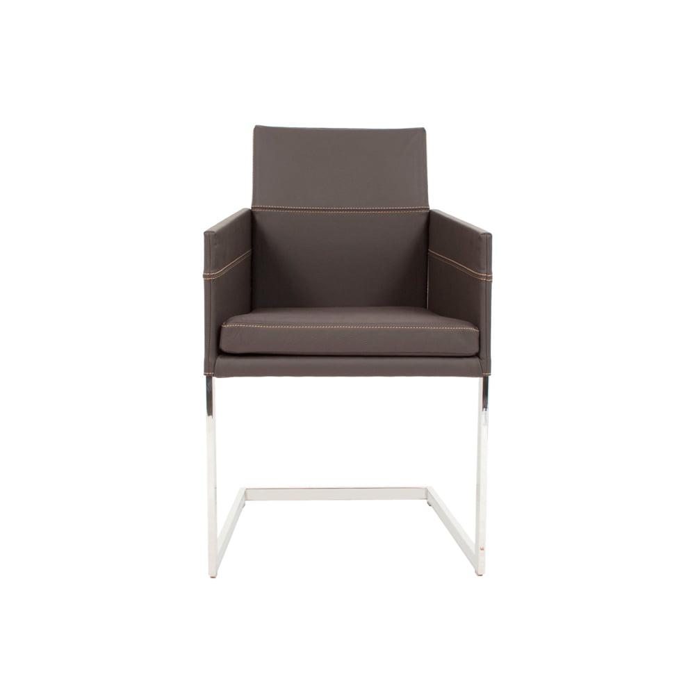 Vokiški baldai kėdė TEXAS-FLAT-Leather-KFF (4)