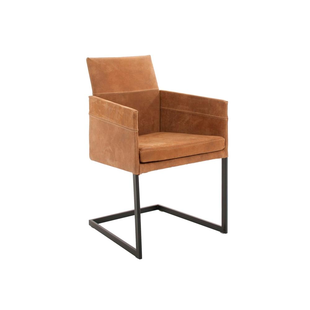 Vokiški baldai kėdė TEXAS-FLAT-Leather-KFF (5)