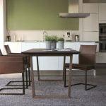 Vokiški baldai kėdė TEXAS-FLAT-Leather-KFF (7)