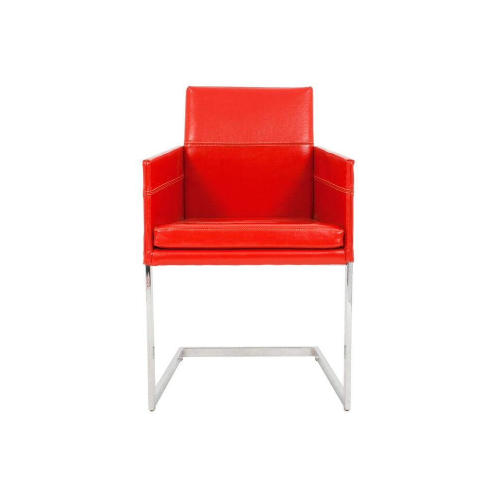Vokiški baldai kėdė TEXAS-FLAT-Leather-KFF (9)