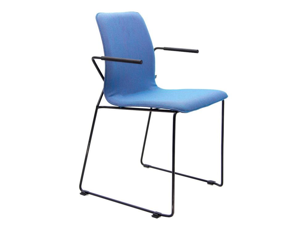 Vokiški baldai kėdė X-ACT-armrests (8)