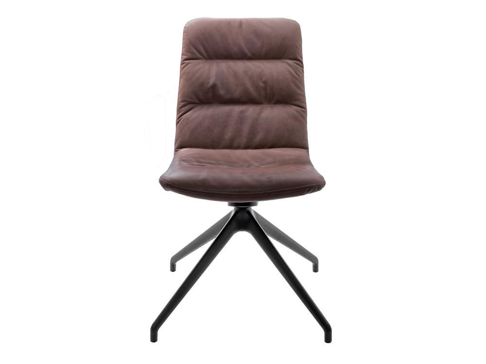 Vokiški baldai kėdė arva-light ruda be porankiu (1)