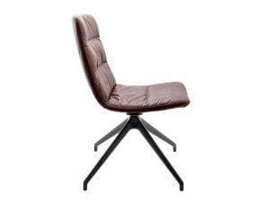 Vokiški baldai kėdė arva-light ruda be porankiu (2)