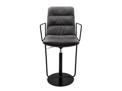 Vokiški baldai baro kėdė arva-light-stool-with-armrests