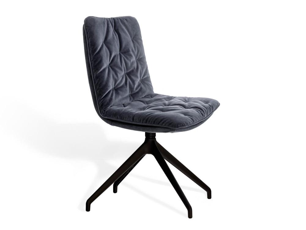 Vokiški baldai kėdė arva-stitch be porankiu