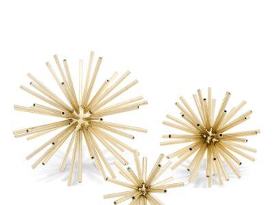 Dekoratyvus aksesuaras Eichholtz Meteor gold